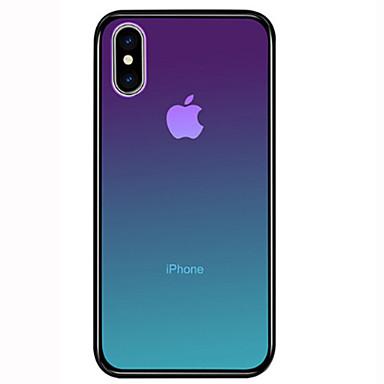 voordelige iPhone 7 hoesjes-hoesje Voor Apple iPhone 11 / iPhone 11 Pro / iPhone 11 Pro Max Schokbestendig Achterkant Kleurgradatie Hard Gehard glas