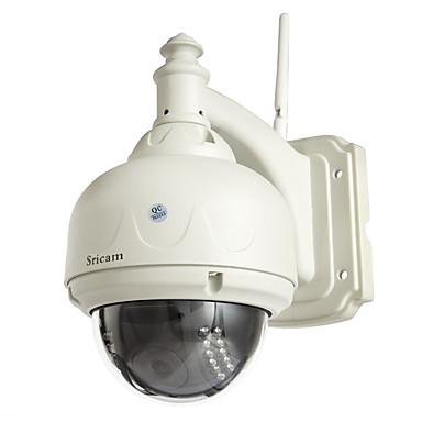 preiswerte IP-Kameras-sricam® 720p ip-kamera drahtlos 1,0 megapixel h.264 dome wasserdichtes wlan wlan ir-cut pt cctv sicherheit sp015