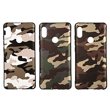 842da98ab Case For Xiaomi Xiaomi A2   Xiaomi A2 lite Frosted   Pattern Back Cover  Camouflage Soft TPU for Xiaomi Redmi Note 5A   Xiaomi Redmi Note 5 Pro    Xiaomi ...