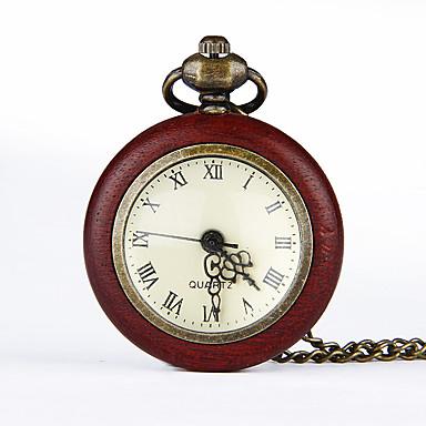Χαμηλού Κόστους Ανδρικά ρολόγια-Ανδρικά Ρολόι Τσέπης Χαλαζίας Μπρονζέ Δημιουργικό Νεό Σχέδιο Αναλογικό Νέα άφιξη Μινιμαλιστική - Φούξια