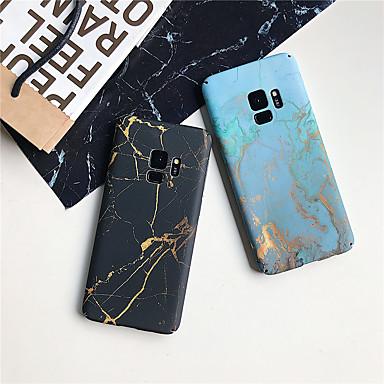 voordelige Galaxy S-serie hoesjes / covers-hoesje Voor Samsung Galaxy S9 / S9 Plus / S8 Plus Ultradun / Patroon Achterkant Marmer Hard PC