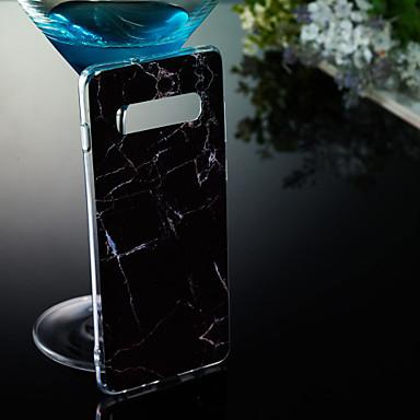 Недорогие Чехлы и кейсы для Galaxy S6-Кейс для Назначение SSamsung Galaxy S9 / S9 Plus / S8 Plus IMD / С узором Кейс на заднюю панель Мрамор Мягкий ТПУ