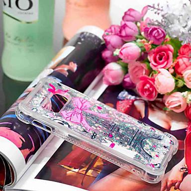 voordelige Galaxy S-serie hoesjes / covers-hoesje Voor Samsung Galaxy S9 / S9 Plus / S8 Plus Schokbestendig / Stromende vloeistof / Transparant Achterkant Uil / Dromenvanger / Glitterglans Zacht TPU