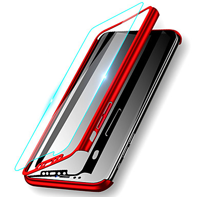 voordelige iPhone X hoesjes-hoesje Voor Apple iPhone 11 / iPhone 11 Pro / iPhone 11 Pro Max Schokbestendig / Ultradun / Mat Volledig hoesje Effen Hard PC