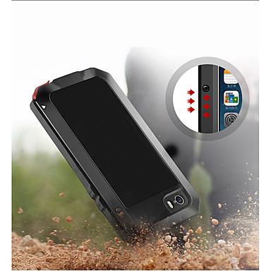 Недорогие Кейсы для iPhone-Кейс для Назначение Apple iPhone XS / iPhone XR / iPhone XS Max Защита от удара / Защита от пыли / Защита от влаги Чехол броня Мягкий Металл