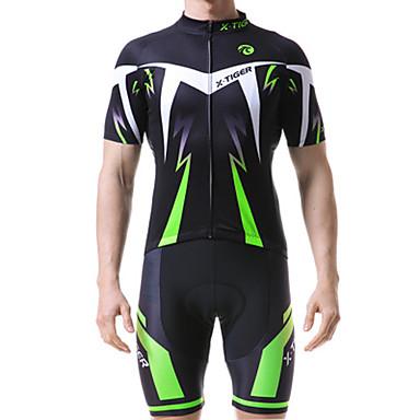 voordelige Motorjacks-x-tiger nieuw fietsshirt met korte mouwen, zomerafvoerend ademend heren sportshirt