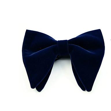billige Herrers Mode Beklædning-Herre Grunnleggende Sløyfe Ensfarget