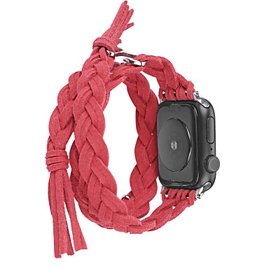 tanie Opaski do Apple Watch-Watch Band na Apple Watch Series 5/4/3/2/1 / Apple Watch Series 4/3/2/1 Jabłko Pasek sportowy / Narzędzia DIY Tkanina / Nylon Opaska na nadgarstek