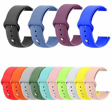 voordelige Horlogebandjes voor Samsung-Horlogeband voor Samsung Galaxy Watch 46 / Samsung Galaxy Watch 42 Samsung Galaxy Sportband Gewatteerd PU-leer Polsband