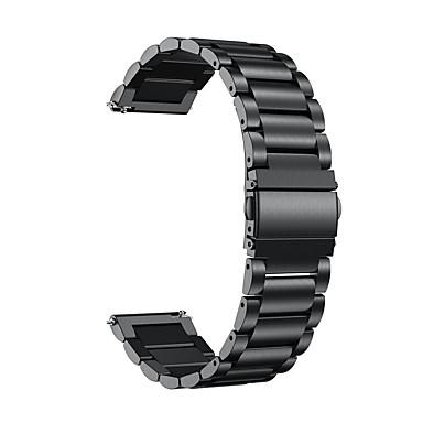 Недорогие Ремешки для часов Huawei-Ремешок для часов для Watch 2 Pro Huawei Спортивный ремешок / Классическая застежка Металл / Нержавеющая сталь Повязка на запястье
