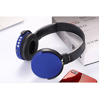 رخيصةأون سماعات الرأس و الأذن-Kubite 350BT سماعة فوق الأذن لاسلكي الرياضة واللياقة البدنية V4.0 ستيريو