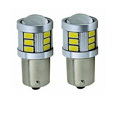 Недорогие Фары для мотоциклов-SENCART 2pcs BA15S (1156) / BAY15D(1164) Мотоцикл / Автомобиль Лампы 5 W SMD 5630 450 lm 18 Светодиодная лампа Лампа поворотного сигнала / Задний свет / Тормозные огни Назначение Универсальный