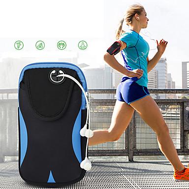 halpa Nokia kotelot / kuoret-laukku vyötärö miesten ja naisten matka kaksinkertainen urheilu vedenpitävä säädettävä matka laukku taskut 6 tuumaa