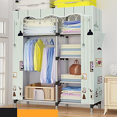 5581af40d رخيصةأون خزانة الحمام و الغسيل-بسيطة خزانة 25 ملليمتر أنابيب الصلب مزيج  الخوخ الجلد المخملية