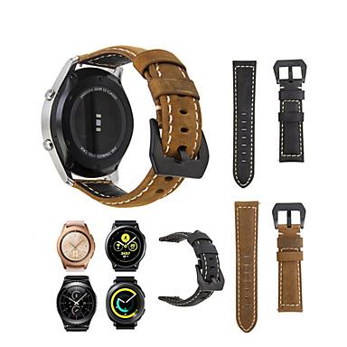 voordelige Smartwatch-accessoires-lederen band armband voor samsung galaxy horloge 42 / gear s2 classic / gear sport
