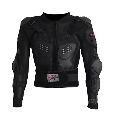 Недорогие Средства индивидуальной защиты-защитное снаряжение мотоцикла p13 для налокотников / куртка / броня мужская сетка / поли / смесь хлопка / броня евы / классная / тонкая линия