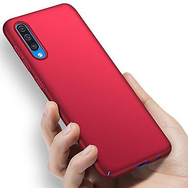 voordelige Galaxy A-serie hoesjes / covers-hoesje Voor Samsung Galaxy A6 (2018) / A6+ (2018) / Galaxy A7(2018) Schokbestendig / Ultradun / Mat Achterkant Effen Hard PC