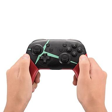 olcso Videojáték tartozékok-vezeték nélküli bluetooth vezérlő gamepad joystick a nintend switch pro hosthoz