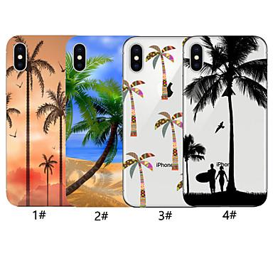 voordelige iPhone 6 Plus hoesjes-hoesje voor apple iphone xr / iphone xs max patroon achterkant boom soft tpu voor iphone x xs 8 8plus 7 7plus 6 6plus 6s 6s plus
