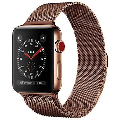 Klokkerem til Apple Watch Series 5/4/3/2/1 Apple Milanesisk rem Rustfritt stål Håndleddsrem