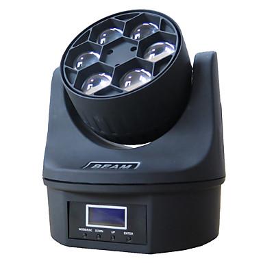 Недорогие LED освещение для шкафчиков-1 компл. Светодиодный свет этапа dmx512 управления звуком 6 бусинки глаза движущиеся фары крашения огни DJ-бар бальные огни украшения