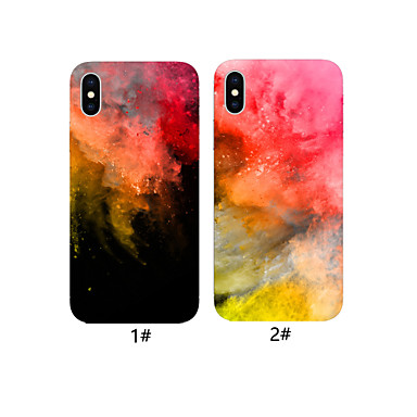 voordelige iPhone X hoesjes-geval voor apple iphone xr / iphone xs max patroon achterkant 3d cartoon zachte tpu voor iphone x xs 8 8 plus 7 7 plus 6 6 plus 6s 6s plus