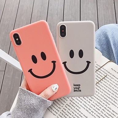 voordelige iPhone-hoesjes-hoesje Voor Apple iPhone XS / iPhone XR / iPhone XS Max Patroon Achterkant Cartoon Zacht TPU