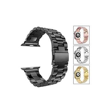 voordelige Smartwatch-accessoires-Horlogeband voor Apple Watch Series 5/4/3/2/1 Apple Sportband Roestvrij staal Polsband