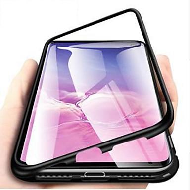 voordelige Galaxy Note-serie hoesjes / covers-hoesje Voor Samsung Galaxy Note 9 / Note 8 Schokbestendig / Ultradun / Transparant Volledig hoesje Effen Hard Gehard glas