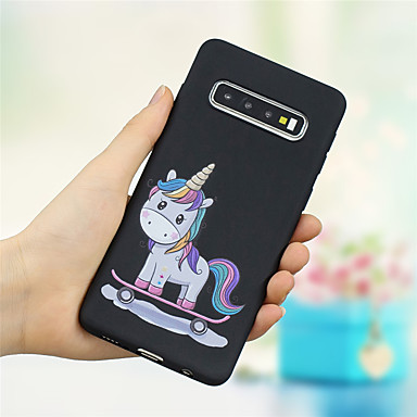 voordelige Galaxy S-serie hoesjes / covers-hoesje Voor Samsung Galaxy S9 / S9 Plus / S8 Plus Mat / Patroon Achterkant dier / Cartoon Zacht TPU