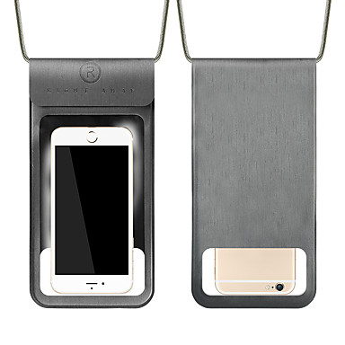 voordelige Universele hoesjes & tasjes-hoesje Voor Apple Universeel Waterbestendig / Stofbestendig / Transparant Waterdicht etui Transparant Zacht PVC