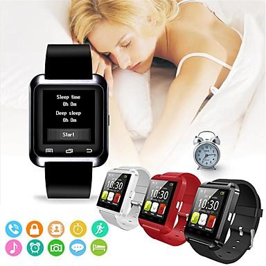 זול שעונים חכמים-שעון סנכרון השעון המודיע תמיכה קישוריות Bluetooth עבור iPhone ios אנדרואיד טלפון ספורט שעונים חכמים