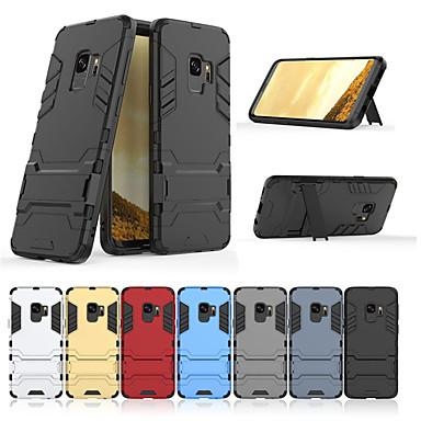 voordelige Galaxy S-serie hoesjes / covers-hoesje Voor Samsung Galaxy S9 / S9 Plus Schokbestendig / Stofbestendig / Waterbestendig Achterkant Effen Hard TPU / PC