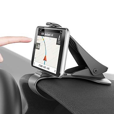 Недорогие Аксессуары для интерьера авто-автомобильный держатель зажима приборной панели автомобильный держатель телефона 360 поворотный стенд крепление дисплея GPS кронштейн