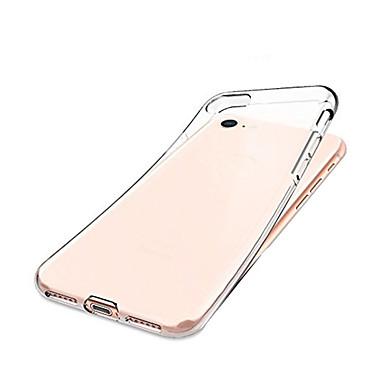Недорогие Кейсы для iPhone-Кейс для Назначение Apple iPhone 8 / iPhone 7 Защита от удара Кейс на заднюю панель Прозрачный Мягкий ТПУ