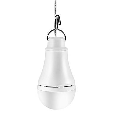 1set 10 W Bulb LED Glob 900 lm USB A60(A19) 20 LED-uri de margele SMD 5730 Intensitate Luminoasă Reglabilă Urgență Alb Cald Alb Galben Alimentat USB