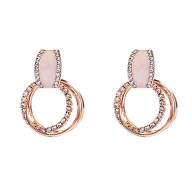 ba534ec5000d abordables Pendientes-Mujer Pendientes colgantes Pendiente Diamante  Sintético Aretes Europeo De moda Moda Elegante Joyas