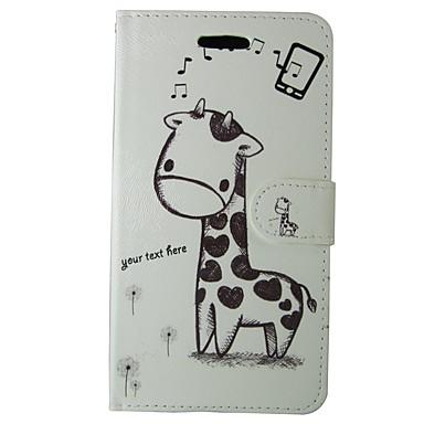 Недорогие Чехлы и кейсы для Galaxy S4 Mini-Кейс для Назначение SSamsung Galaxy S8 / S7 / S6 edge Бумажник для карт / Флип Чехол Однотонный / Животное / Мультипликация Твердый Кожа PU