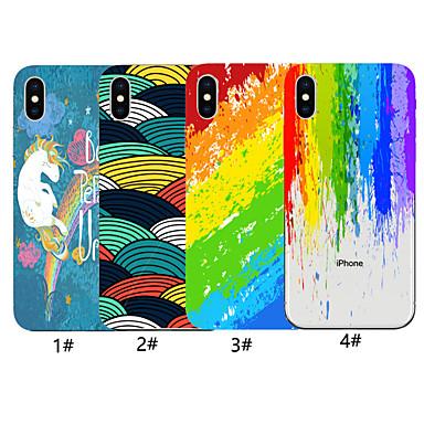 voordelige iPhone X hoesjes-hoesje voor apple iphone xr / iphone xs max vintage kunst inkt schilderij patroon achteromslag lijnen / golven zachte tpu voor iphone x xs 8 8 plus 7 7 plus 6 6 plus 6s 6s plus