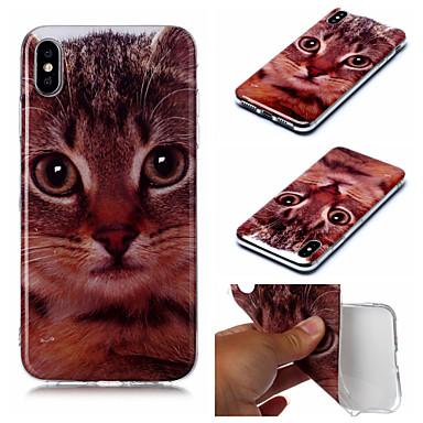 voordelige iPhone 5 hoesjes-hoesje voor Apple iPhone XS iPhone XS Max telefoonhoes TPU materiaal IMD geverfde telefoonhoes voor iPhone XR X 7 plus 8 plus 7 8 6 plus 6s plus 6 6s 5 5s se
