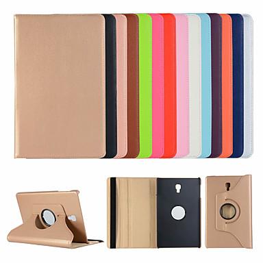 voordelige Samsung Tab-serie hoesjes / covers-hoesje Voor Samsung Galaxy Tab A2 10.5(2018) T595 T590 / Tab S2 9.7 / Tab S2 8.0 met standaard / Flip Volledig hoesje Effen Hard PU-nahka