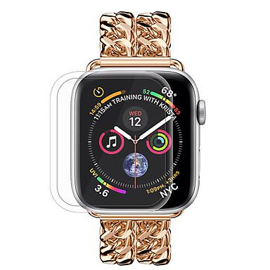 Недорогие Защитные пленки для Apple Watch-новое закаленное стекло полного покрытия для яблочных часов 4 серии 40 мм / 44 мм