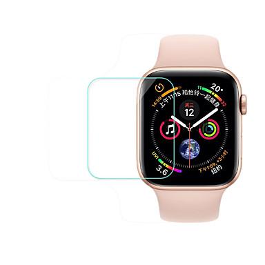 Недорогие Защитные пленки для Apple Watch-новое закаленное стекло полного покрытия для яблочных часов 4 серии 5шт 40 мм / 44 мм