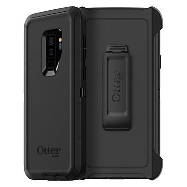 cheap Galaxy S6 Cases / Covers-Case For Samsung Galaxy S9 / S9 Plus / S8 Plus Shockproof / Dustproof Back Cover Solid Colored Soft TPU