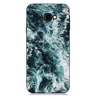 voordelige Galaxy J-serie hoesjes / covers-hoesje Voor Samsung Galaxy J7 (2017) / J6 (2018) / J5 (2017) Schokbestendig / Mat / Patroon Achterkant Landschap TPU