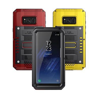 voordelige Galaxy S-serie hoesjes / covers-hoesje Voor Samsung Galaxy S8 Plus Waterbestendig / Schokbestendig Volledig hoesje Schild Hard Metaal