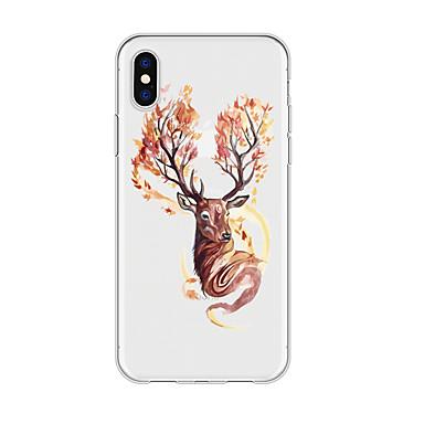 voordelige iPhone 5 hoesjes-hoesje voor iphone x xs max xr xs achterkant zachte hoes tpu eenvoudige elanden zachte tpu voor iphone5 5s se 6 6p 6s sp 7 7p 8 8p16 * 8 * 1