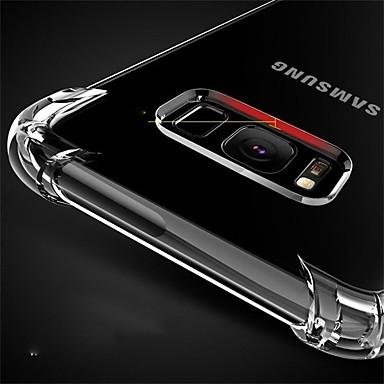 저렴한 Galaxy S6 Edge 케이스 / 커버-케이스 제품 Samsung Galaxy S8 Plus / S8 / S8 Edge 충격방지 / 방진 뒷면 커버 투명 소프트 TPU