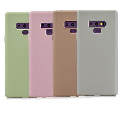 voordelige Galaxy Note-serie hoesjes / covers-hoesje Voor Samsung Galaxy Note 9 / Note 8 Mat Achterkant Effen TPU
