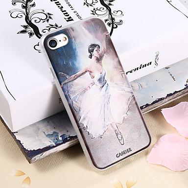 Недорогие Кейсы для iPhone-чехол для apple iphone x / iphone 7 plus водонепроницаемый / пыленепроницаемый / задняя крышка с рисунком sexy lady soft tpu / модный чехол для телефона чехол для iphone 5 / 5s / se / 6 / 6s / iphone